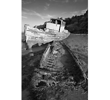 Orwell Wreck Photographic Print