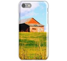 BARN ON A HILL iPhone Case/Skin