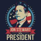 Jon Stewart for President  by Tom Trager