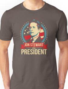 Jon Stewart for President  Unisex T-Shirt