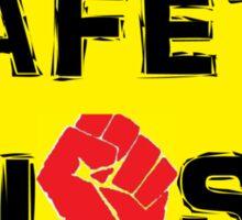 Safety Fist Tee Sticker