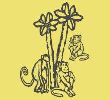 Apes - chimpanzees, Rainforest Rescue, animal welfare, palm oil Kids Clothes