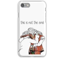 one direction last hug  iPhone Case/Skin