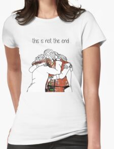 one direction last hug  Womens Fitted T-Shirt