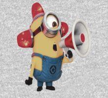 Minion with a megaphone by Undernhear