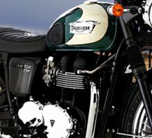Triumph Bonneville Easy Rider Sticker