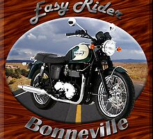 Triumph Bonneville Easy Rider by hotcarshirts