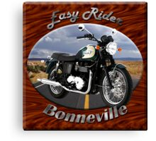 Triumph Bonneville Easy Rider Canvas Print