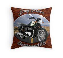 Triumph Bonneville Easy Rider Throw Pillow
