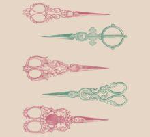 vintage scissors by Federica Cacciavillani