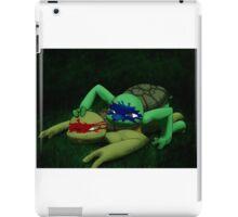 TMNT - Midnight training iPad Case/Skin