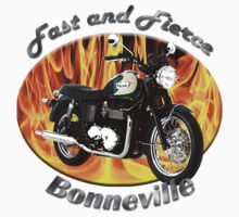 Triumph Bonneville Fast and Fierce by hotcarshirts