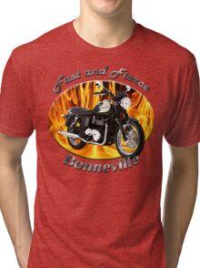 Triumph Bonneville Fast and Fierce Tri-blend T-Shirt