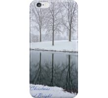 Christmas Greeting iPhone Case/Skin