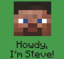 Minecraft - I'm Steve by Ancaria