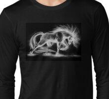 Horse Sketch 2 Long Sleeve T-Shirt