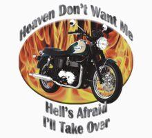 Triumph Bonneville Heaven Don't Want Me One Piece - Long Sleeve