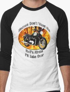 Triumph Bonneville Heaven Don't Want Me Men's Baseball ¾ T-Shirt