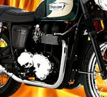 Triumph Bonneville Heaven Don't Want Me Sticker