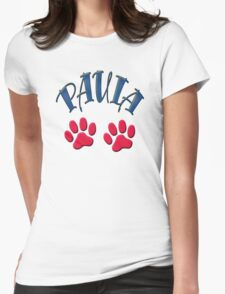 Paula paws - dogs, cats, animal welfare, animal rescuers, animal rights T-Shirt