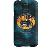 Triumph Bonneville Heaven Don't Want Me Samsung Galaxy Case/Skin