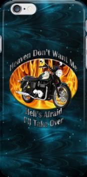 Triumph Bonneville Heaven Don't Want Me by hotcarshirts