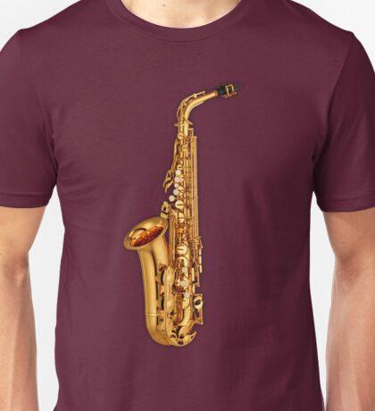 Golden Saxophone Unisex T-Shirt