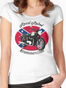 Triumph Bonneville Road Rebel Women's Fitted Scoop T-Shirt