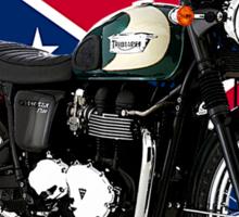 Triumph Bonneville Road Rebel Sticker