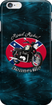 Triumph Bonneville Road Rebel by hotcarshirts
