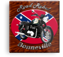 Triumph Bonneville Road Rebel Metal Print
