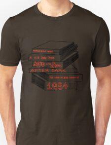 Haruki Murakami Book Stack Unisex T-Shirt