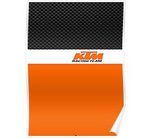 KTM racing team Poster