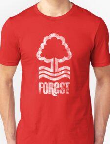 Nottingham Forest Distressed Logo Unisex T-Shirt