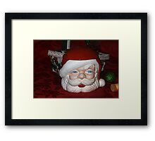 Cookies For Santa Framed Print