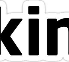 Skins Sticker