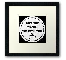 Star Wars Coffee Framed Print