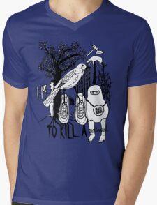 To Kill a Mockingbird (black and white) Mens V-Neck T-Shirt