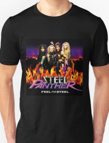 STEEL PANTHER FEEL THE STEEL T-Shirt