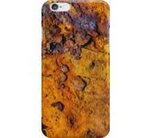 Rusted metal surface iPhone Case/Skin