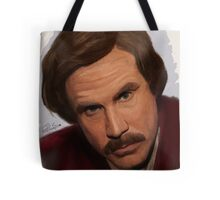 Ron Burgundy-The Anchorman Tote Bag