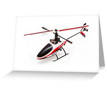 Remote controlled helicopter Greeting Card