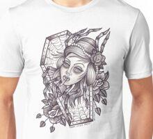 Spider Lady (greyscale) Unisex T-Shirt