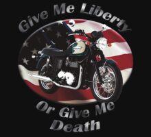 Triumph Bonneville Give Me Liberty Kids Tee