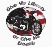 Triumph Bonneville Give Me Liberty T-Shirt