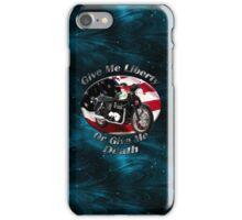Triumph Bonneville Give Me Liberty iPhone Case/Skin