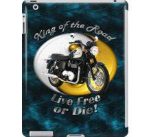 Triumph Bonneville King Of The Road iPad Case/Skin