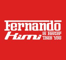 Fernando, Kimi is Faster Than You (Dark Shirts) by oawan