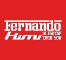 Fernando, Kimi is Faster Than You (Dark Shirts) by oawan