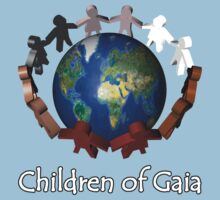 Children of Gaia T-Shirt by Martin Rosenberger